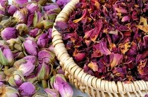 Как засушить лепестки розы