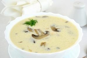 рецепт супа из шампиньонов для детей