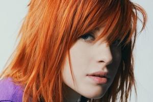 Рыжий цвет волос кому идет