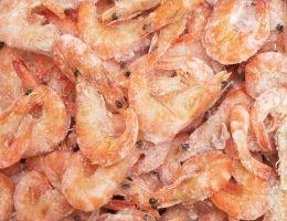 Как купить хорошую замороженную рыбу и креветки
